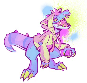 Lil Chompah by squeedgemonster