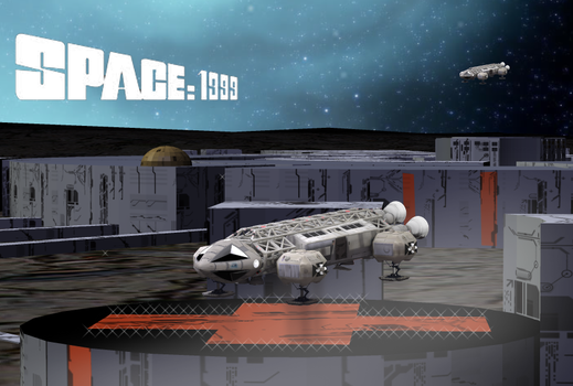 Space 1999 - An Eagle Returns Home by bdy