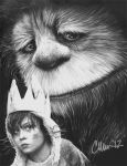 Wild Things Drawing by Live4ArtInLA