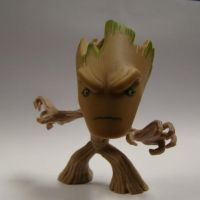 Funko - Mystery Minis - Marvel GotG - Groot by Viper005