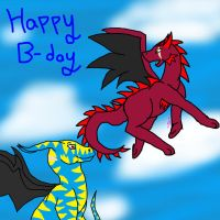 Happy b-day Echosdusk! by lolpeaceoutlol