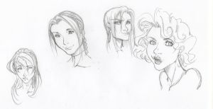 All the pretty faces 3 by YannWeaponX