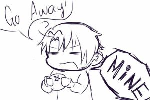 Sassy ChibiRomano is being Sassy by Ask-Lil-Bro-Trio
