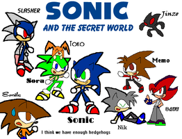 Sonic And the Secret W. Color by Sonic-chaos