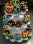 Animal Cupcake tower... by TheForest