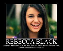 Rebecca Black 'Friday' by wolf137946825
