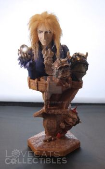 Labyrinth Figure Print by vrlovecats