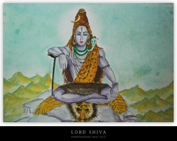 Lord Shiva by thelfs