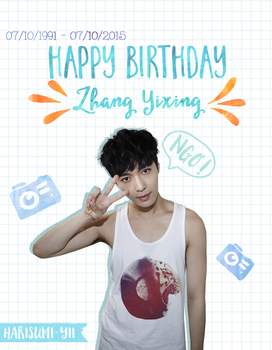[151007] Happy Birthday Lay [EXO] by Harisumi-Yii