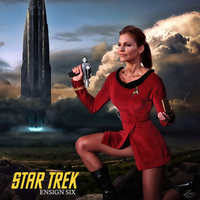 Ensign Caprica Six by PZNS