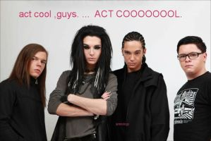 Tokio Hotel being cool by tendology