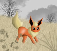 Flareon by ThePinkDemon