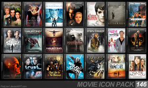 Movie Icon Pack 146 by FirstLine1