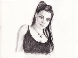 Amy Lee Evanescence by Gisterose