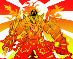 God King - Hellfire Tyrant. by BonnyJohn