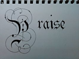 Praise by TheCalligraphyGuy