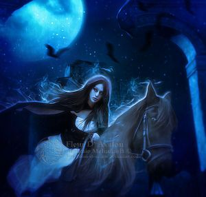 Blue Shadow by Fae-Melie-Melusine