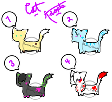 Kitty Adoptables - 1 by Shadow-Dappled