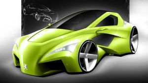 peugeot coupe concept by spoon334