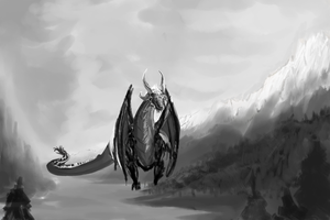 Dragon 2 by Galvin-wolf