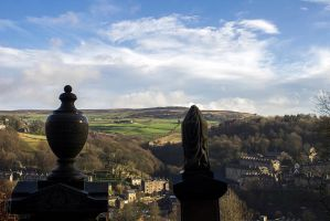 View over Hebden Bridge by evionn