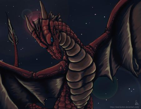Red Dragon by love-button