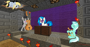 Minecraft Pony Concert by REDGrim