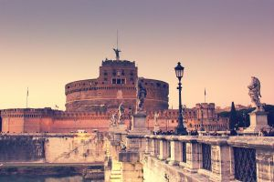 castel s.angelo by nonsodove