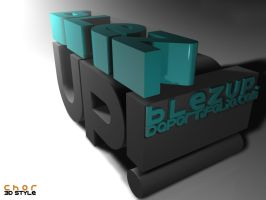 3D TYPO by 163chorao163