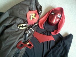 The Red Hood Costume by CarlHoward