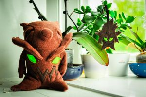 Maokai Sapling with baby by FlutStop