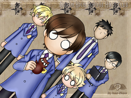 Ouran high school host club by Juno-Glare