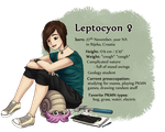 Lepto the Leptocyon by Leptocyon