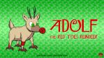 Adolf the Red Toes Reindeer by AnutDraws
