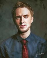 Tom Felton by dewmanna