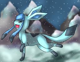 Glaceon by Xenophilith