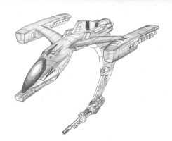 Wasp Light Fighter by DissidentZombie