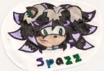 Spazz The HedgeHog by Midnight-Luv