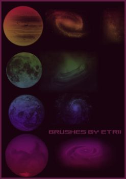 galactic brushes by Etrii by etrii