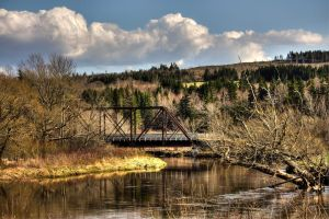 Bridge Over Eagle Waters by steverankin