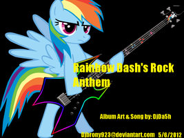 'Rainbow Dash Rock Anthem' song cover by Djbrony923