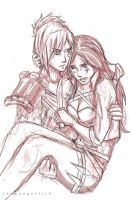 So Tsun (Riven x Katarina) by thegadgetfishes