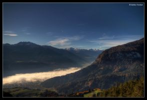 Morning Mist in the Valley by stetre76