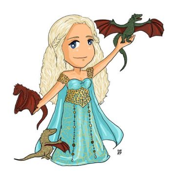 Mother of Dragons by iluvbsbkevin