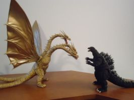 SHMA Godzilla vs King Ghidorah by CosbyDaf