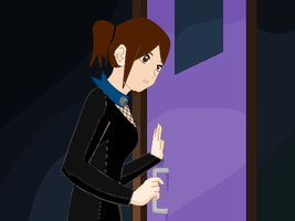 Ayame Eavesdropping by yaoilover998