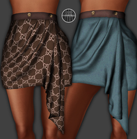AngelRED Couture - Mesh Kim Skirt by BloodAppleKiss
