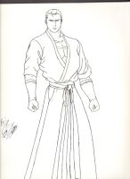 King of Fighters/Fatal Fury Geese Howard by dagame2578