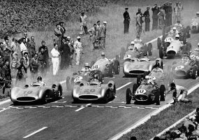 1954 French Grand Prix Start by F1-history