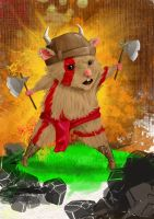Viking Hamster by hot-patato